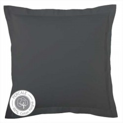 Taie Percale Tradilinge  Anthracite