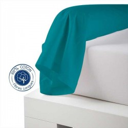 Traversin 100% coton Bleu Paon