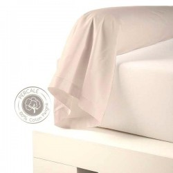 traversin percale coquille