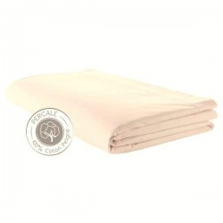 Drap plat Percale Coquille
