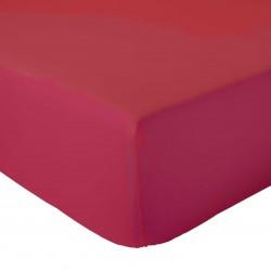 Drap Housse 100% coton Rouge