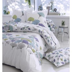 Housse de couette percale Tradilinge GINKGO