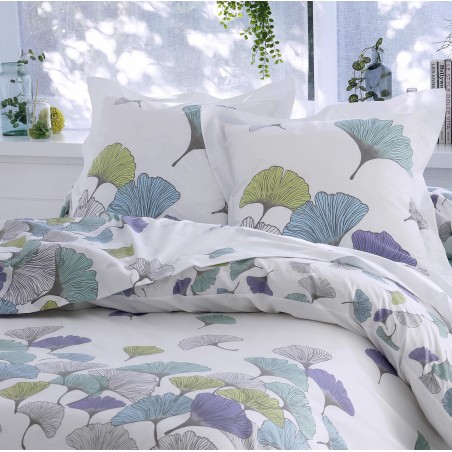 Taie percale Tradilinge GINKGO