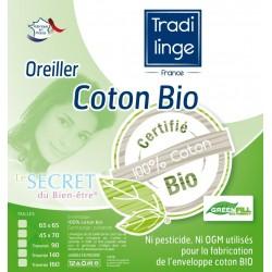 oreiller coton bio