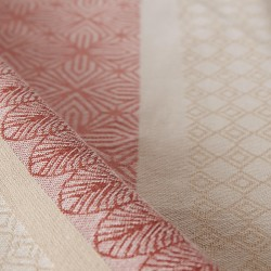 Serviettes CHARLESTON CORAIL