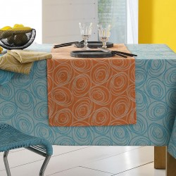 serviettes de table spirale couleurs