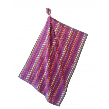 serviettes éponge MINEUR PINK - lot de 6