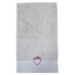 Déstockage - Serviette invité ALPAGE - lot de 2