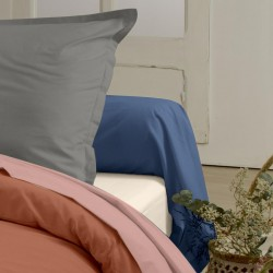 Traversin en coton Bio - Gamme AUTHENTIQUE - coloris Blush