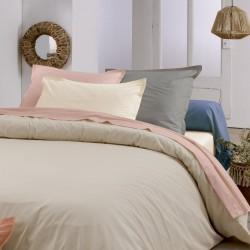 Traversin en coton Bio - Gamme AUTHENTIQUE - coloris Blush
