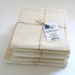 Drap housse en coton BIO - Gamme AUTHENTIQUE - Coloris Blush