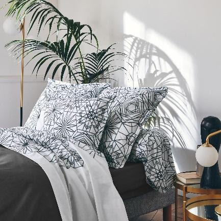 Gabrielle Jais - linge de lit percale de coton