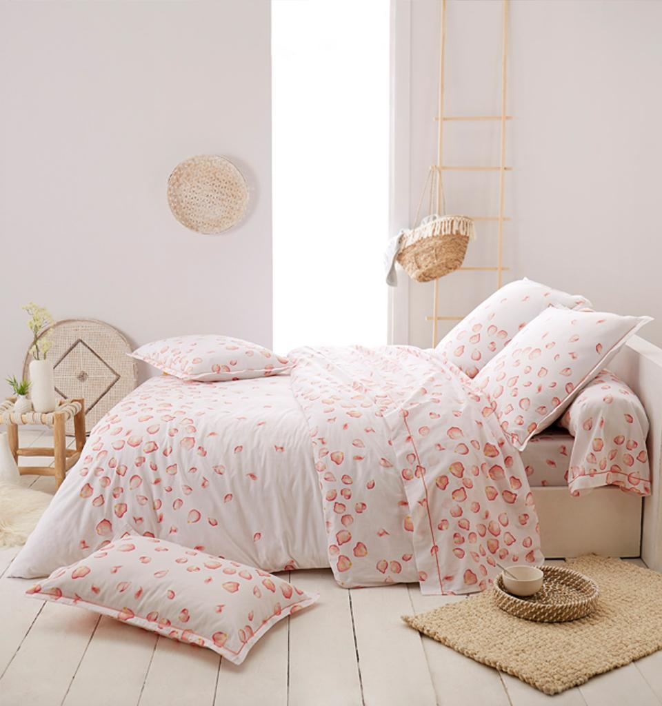 linge de lit satin de coton