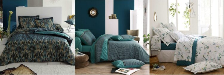 Parures de lit en coton